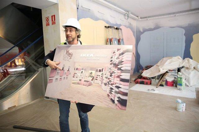durante los seis primeros meses de su apertura el negocio urbano de ikea estar dedicado a los dormitorios y tendr un aspecto como este