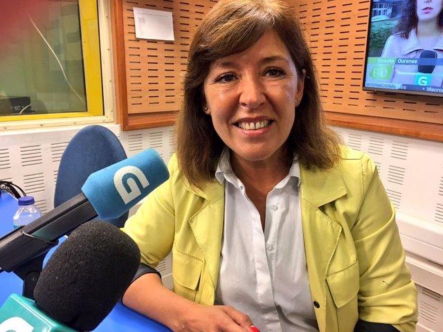La presidenta del PP local de A Coruña, Beatriz Mato