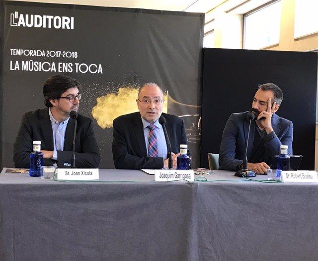 J.Xicola, J.Garrigosa y R.Brufau