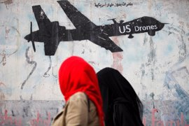 Tres civiles y cuatro presuntos miembros de Al Qaeda muertos en un ataque de un dron en Yemen