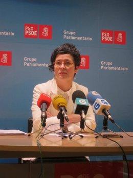 La diputada del PSdeG Patricia Vilán