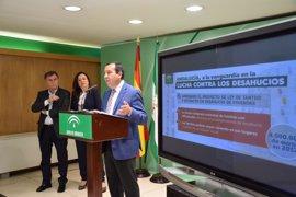 """Ruiz Espejo destaca el """"impulso social"""" de la nueva Ley de Tanteo y Retracto para reforzar las medidas contra desahucios"""