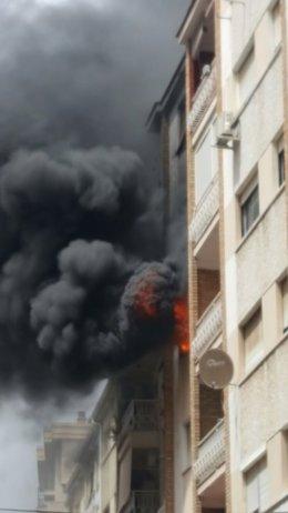 Incendio Calle Sevilla