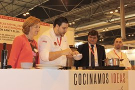 La capital gastronómica ofrece una demostración de cocina en vivo a cargo de Xanty Elías en Gourmets 2017