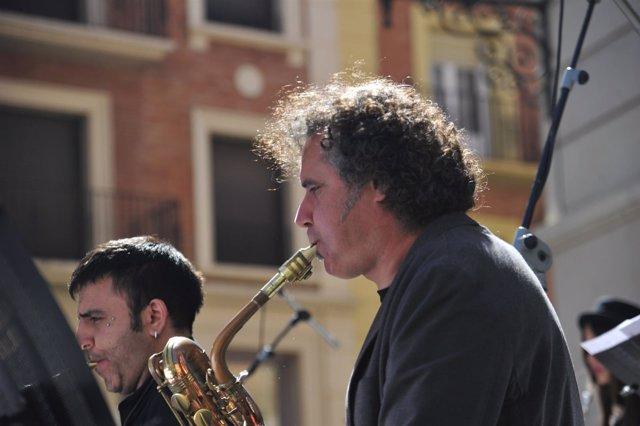 Actuación de Jazz for kids en Teruel.