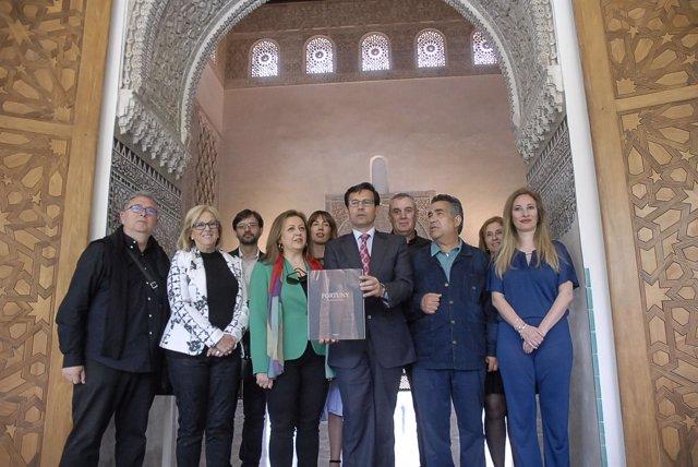 Presentación de las actividades sobre Mariano Fortuny, en el Cuarto Real