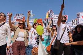 """PP afirma que tras cuatro manifestaciones """"ya es hora"""" de que Junta escuche la petición de """"una sanidad digna"""""""