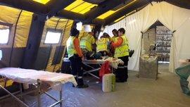 La UE ensaya con SAMUR-PC la respuesta europea coordinada en grandes emergencias