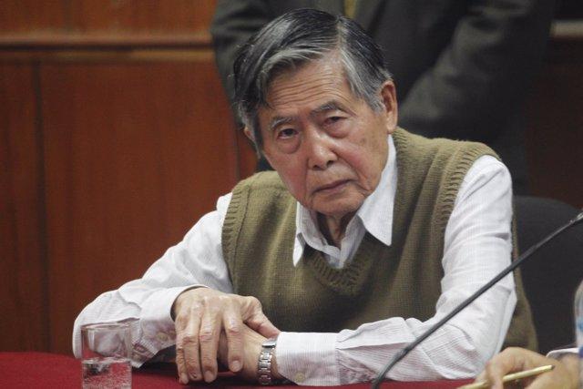 El expresidente de Perú alberto Fujimori.