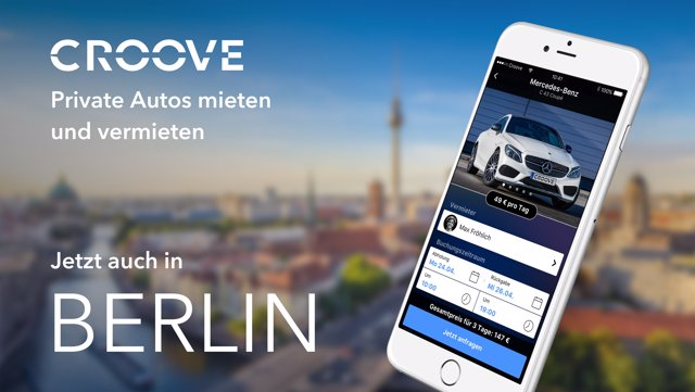 Aplicación Croove de Mercedes-Benz