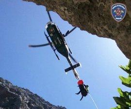 Rescatan a un excursionista accidentado en el Torrent de Pareis