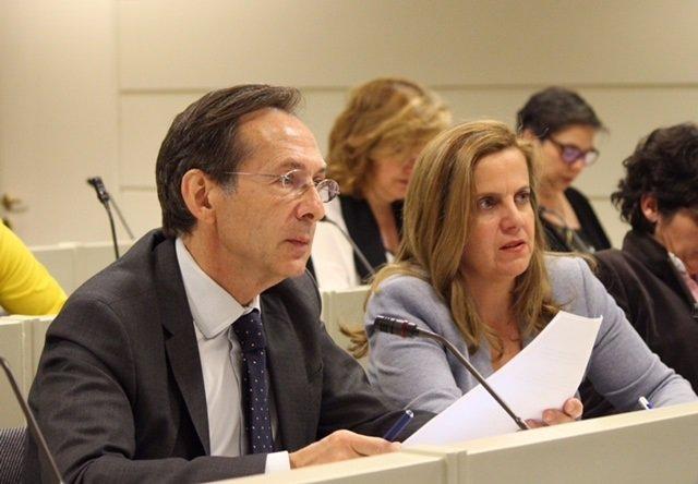 Gonzalo Robles en la Comisión de Cultura