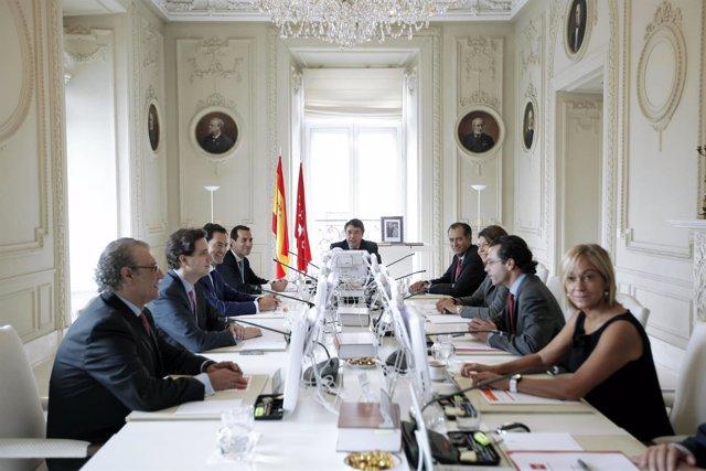 Consejo de Gobierno presidido por Ignacio González