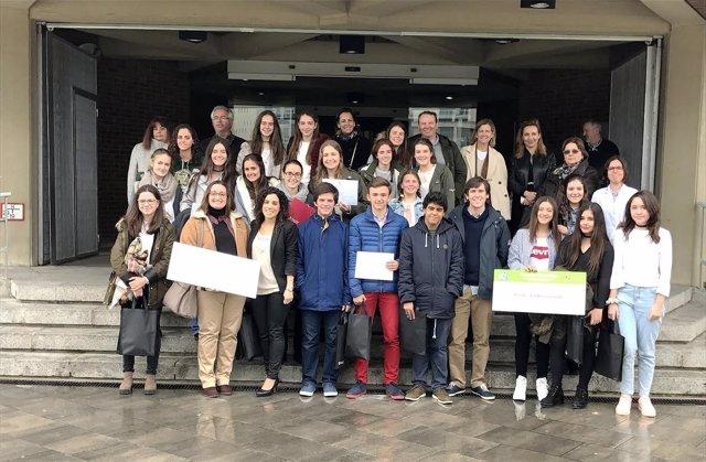 Ganadores del concurso Nutrivideo de la Universidad de Navarra