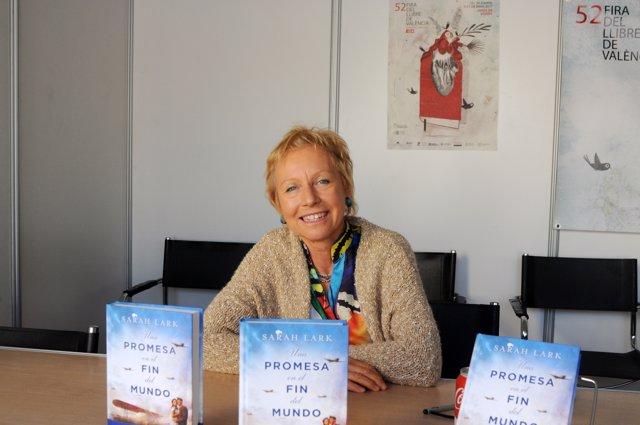 La autora ha visitado la 52 Fira del Llibre