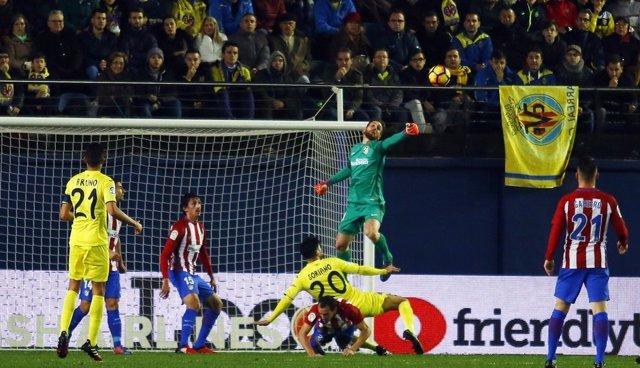 Oblak Villarreal contra Atlético de Madrid