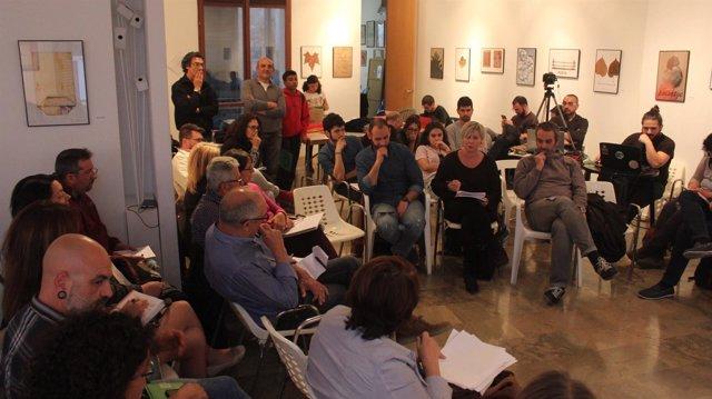 Integrantes de la iniciativa en una imagen de archivo