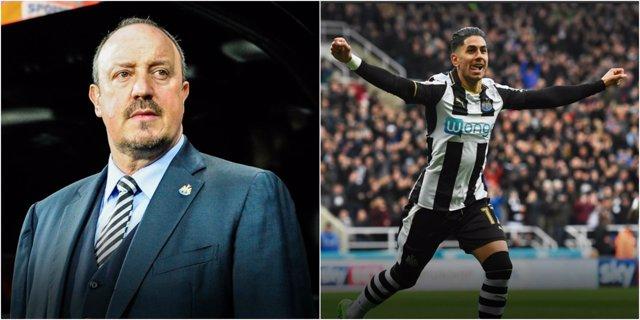 Rafa Benítez Ayoze Pérez Newcastle
