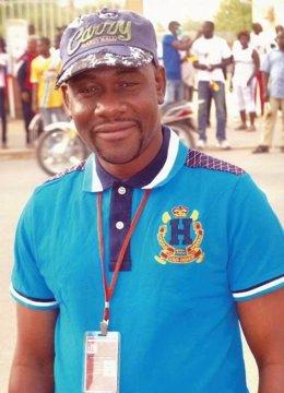 El periodista camerunés Ahmed Abba