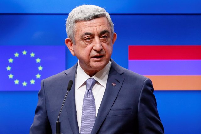 El presidente de Armenia, Serzh Sargsian