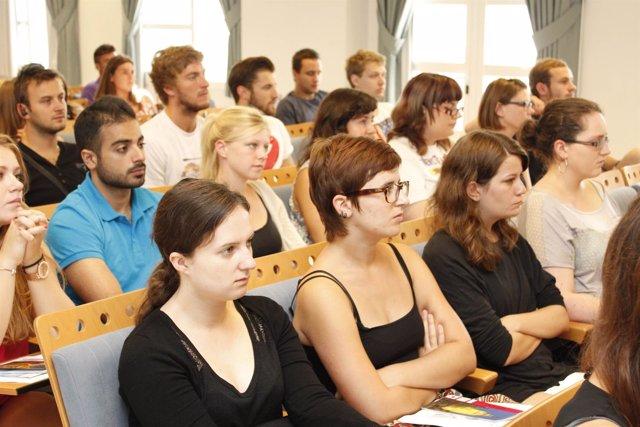 Alumnos Erasmus de la UPO
