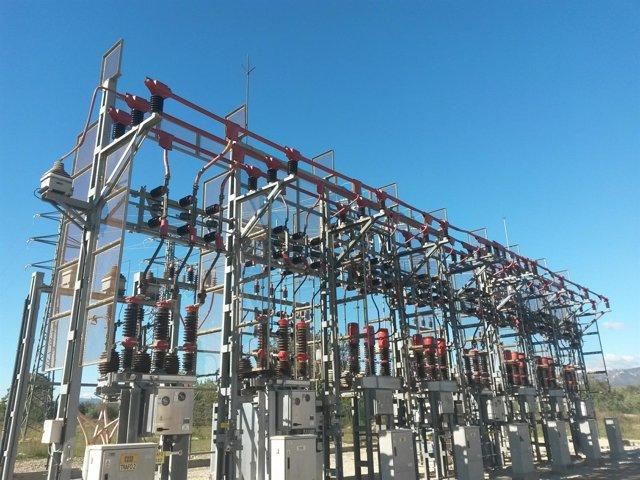 Estación eléctrica Endesa