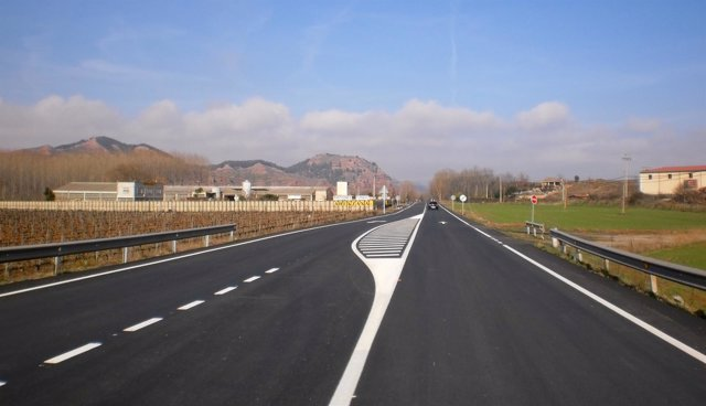 Carretera riojana