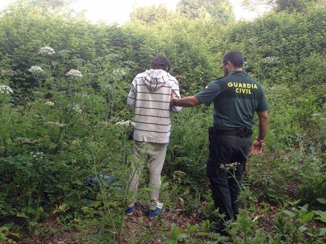 Detenido un vecino de Nigrán por varios robos