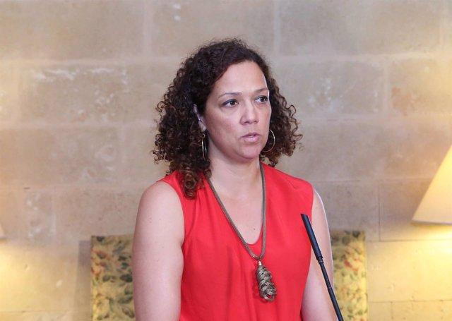 La consellera de Hacienda, Catalina Cladera