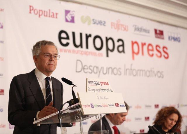 Desayuno Informativo de Europa Press con el presidente de la CNMV