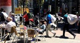 """Los pequeños comerciantes de Palma piden """"medidas contundentes"""" contra la venta ilegal en la calle"""