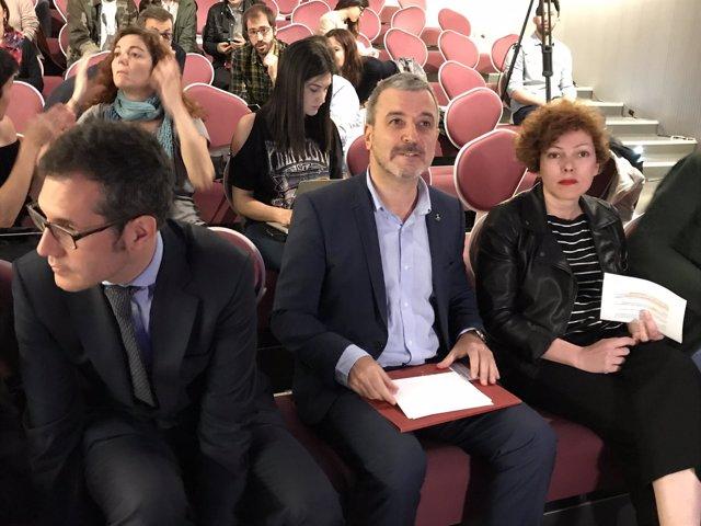 V.Oviedo, J.Collboni y S.Feligreras