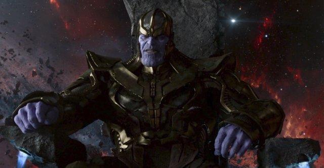 Thanos en Vengadores