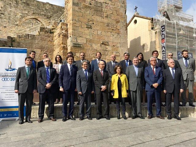 Acuerdo de financiación de los Juegos del Mediterráneo en Tarragona