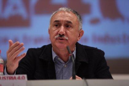 """Álvarez (UGT) sobre negociación colectiva: """"La CEOE tiene que ser consciente de que el tiempo se acaba"""""""