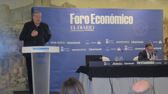 Fidalgo en el foro económico de El Diario Montañés