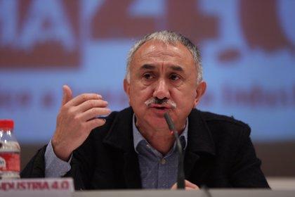"""Álvarez (UGT) cree que el 1 de mayo es """"el momento para cambiar las políticas"""""""