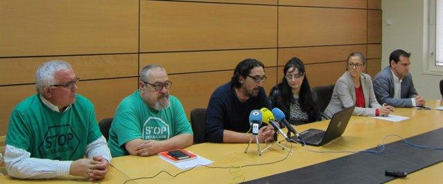 Paco Morote, Luis Bermejo, Susana Hernández y Ser