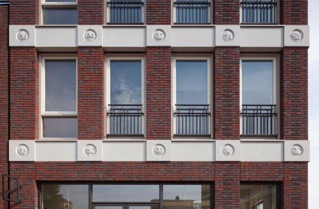 Emojis edificio países bajos