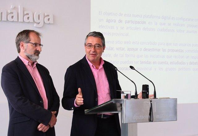 Vicepresidente de diputación Salado y sichar Ciudadanos portal participación