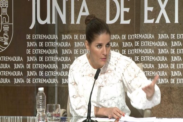 Isabel Gil Rosiña, portavoz de la Junta
