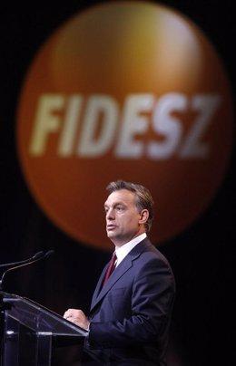 Líder del Fidesz, Viktor Orban