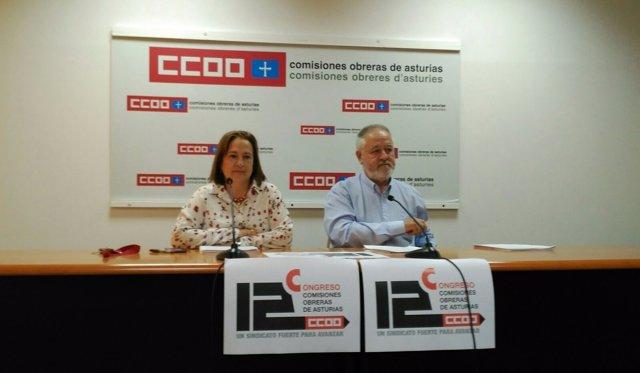 Emilia Escudero y Antonio Pino.