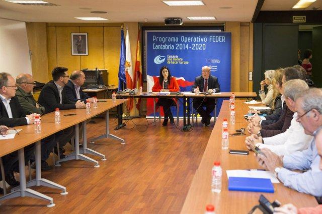 Reunión de Juan José Sota con municipios