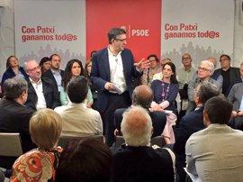 """Patxi López responde a Zapatero: """"Ningún socialista va a tener prejuicios contra una compañera y menos por ser mujer"""""""