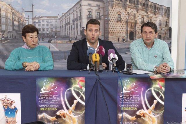 Presentación del Campeonato de España de Gimnasia Rítmica de Conjuntos y Copa de
