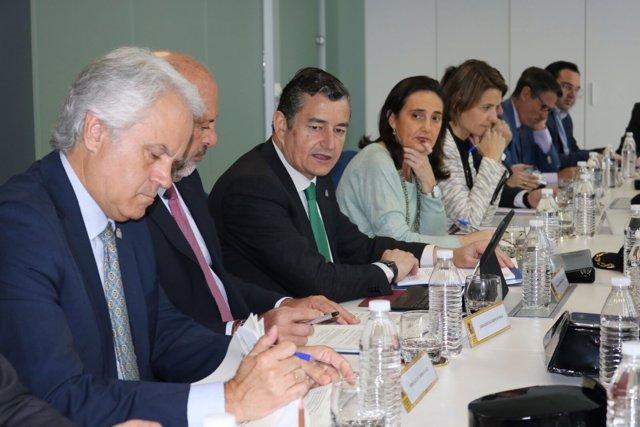Antonio Sanz, delegado del Gobierno en Andalucía.