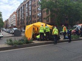 Muere un hombre de 72 años tras ser atropellado en la calle Embajadores