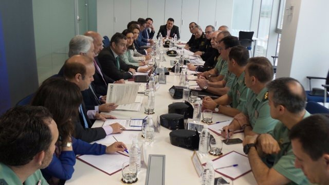 Reunión del Plan 'Rocío Seguro' en Huelva.