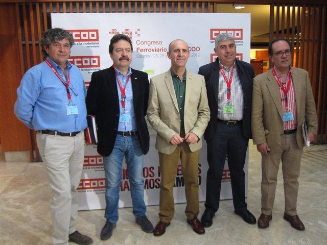 XI Congreso del Sector Ferroviario de CCOO en Cáceres